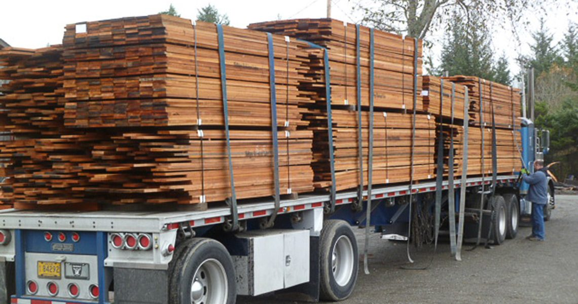 Shipping Salvaged Lumber